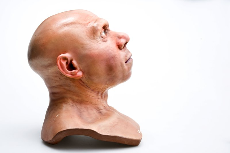 Reconstructed Neanderthal man