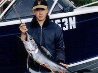 Swordfish caught off Bowen Island
