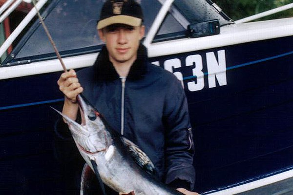 Swordfish caught off Bowen Island