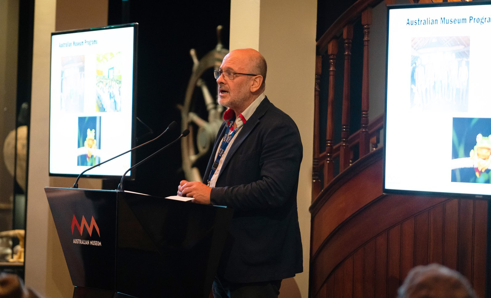 Tim Flannery at the Australian Museum, 4 June 2019