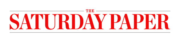 The Saturday Paper logo - red