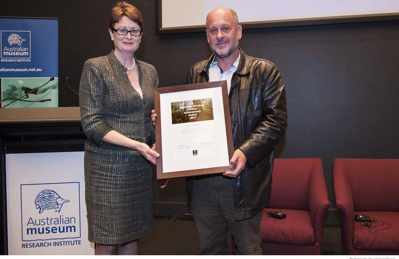 Tim Flannery - AMRI Lifetime Achievement Award 2014