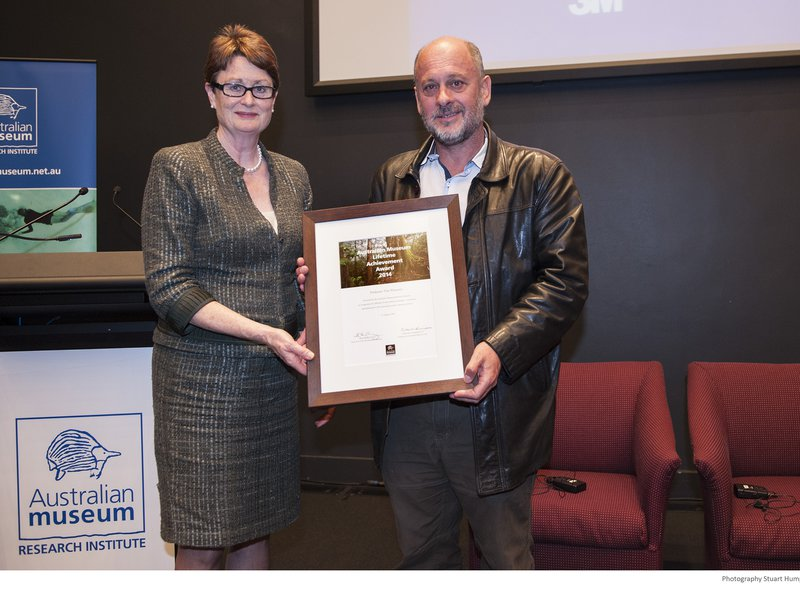Tim Flannery - AMRI Lifetime Achievement Award 2014