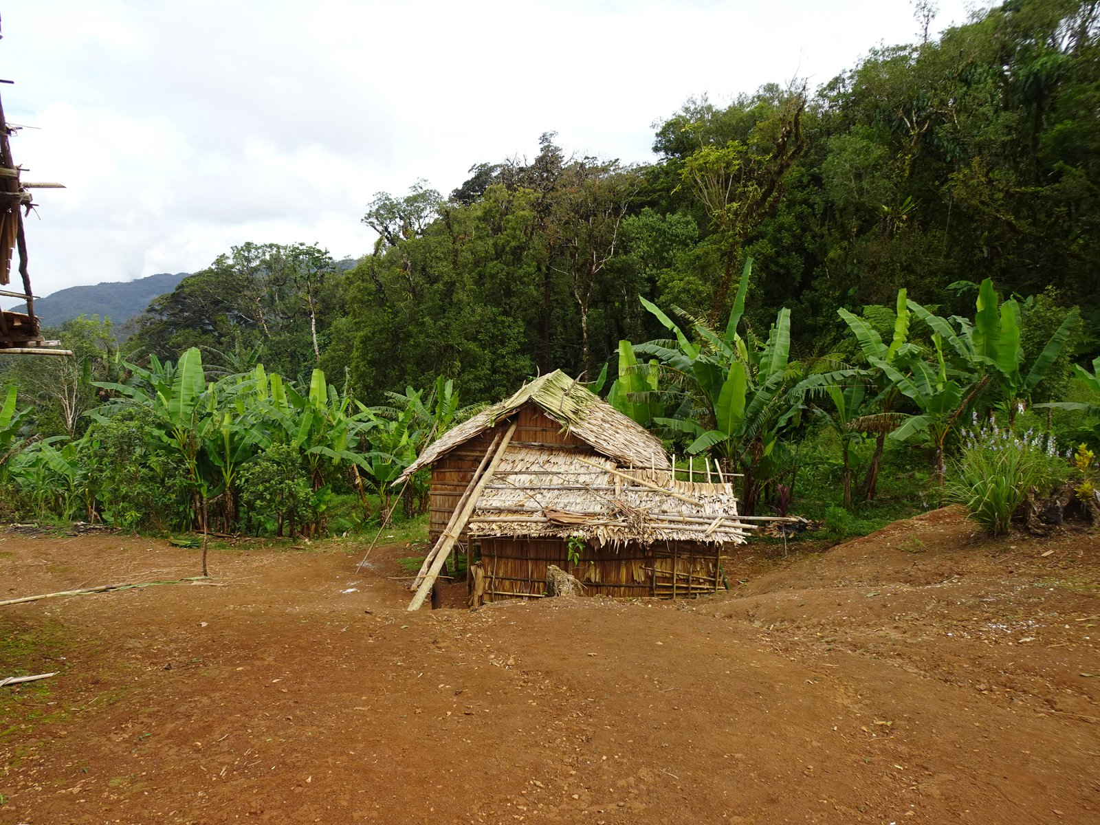 Traditional dwelling in Malaita, Solomon Islands