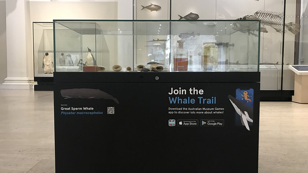 Whale Trail Great Sperm Whale stop
