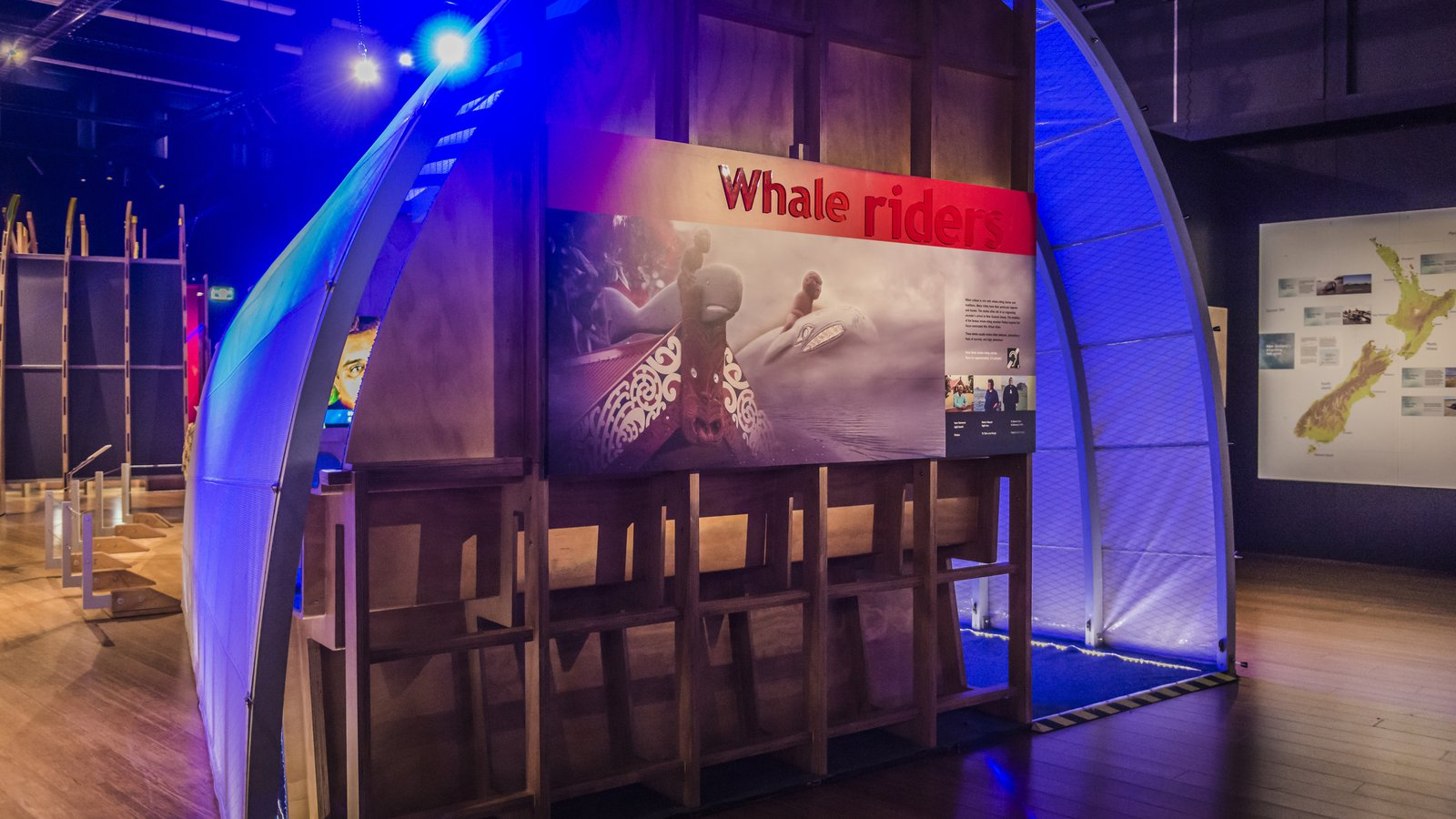 Whale riders theatre in Whales | Tohorā