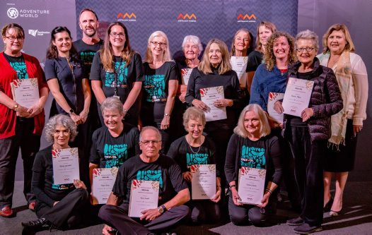DigiVols with five-year certificates of appreciation