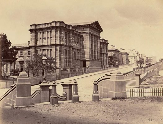 This photo of the Australian Museum, taken in 1877,