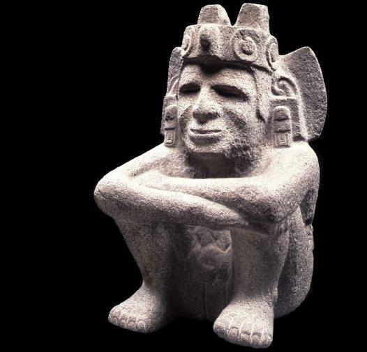 Sculpture of Xiuhtecuhtli (God of Fire and Guardian of Merchants).