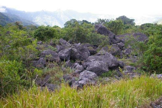 boulders Timor-Leste