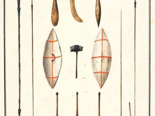 Indigenous Weapons - Sydney Region (1802-04)