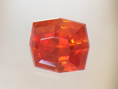 1.75 carat crocoite, Dundas, Tasmania, Australia