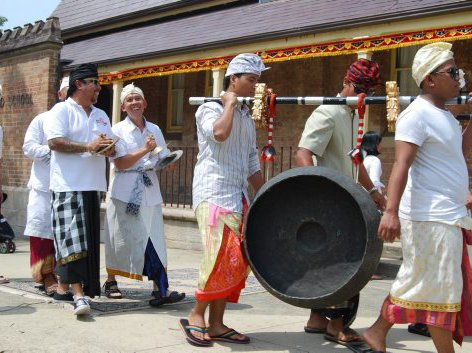 Gamelan - Gong Kempul in Procession