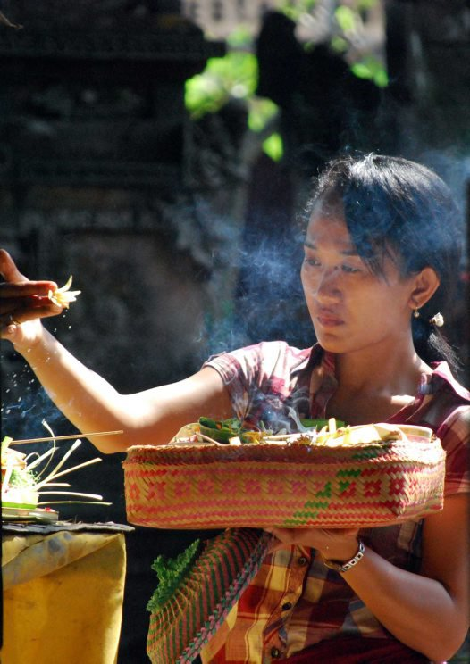 Offering at Ubud Market, Bali