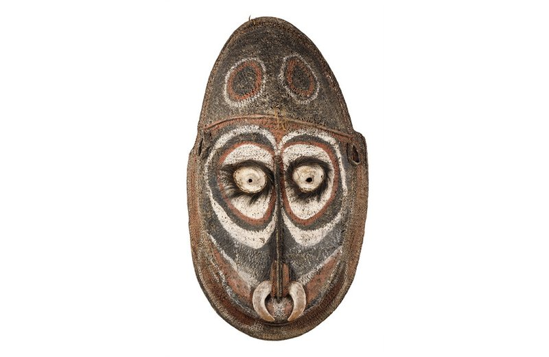 Iatmul people, Papua New Guinea: Gable mask mid-20th century