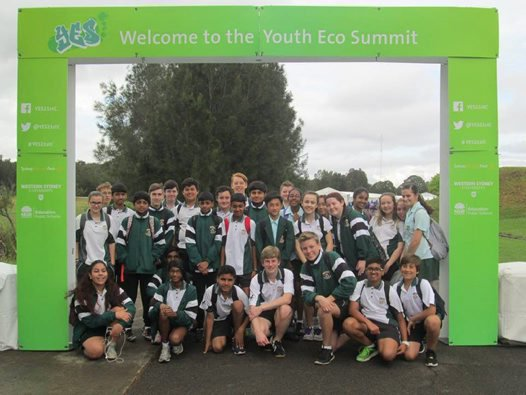 Greystanes High school at the Youth Eco Summit