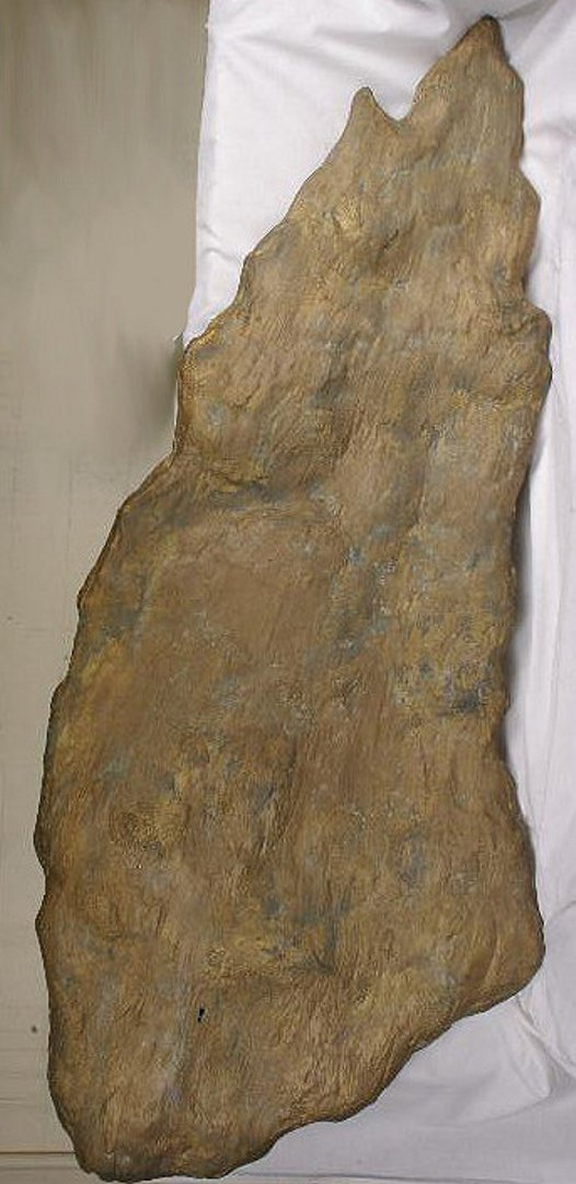 Holtermann Nugget replica – before restoration