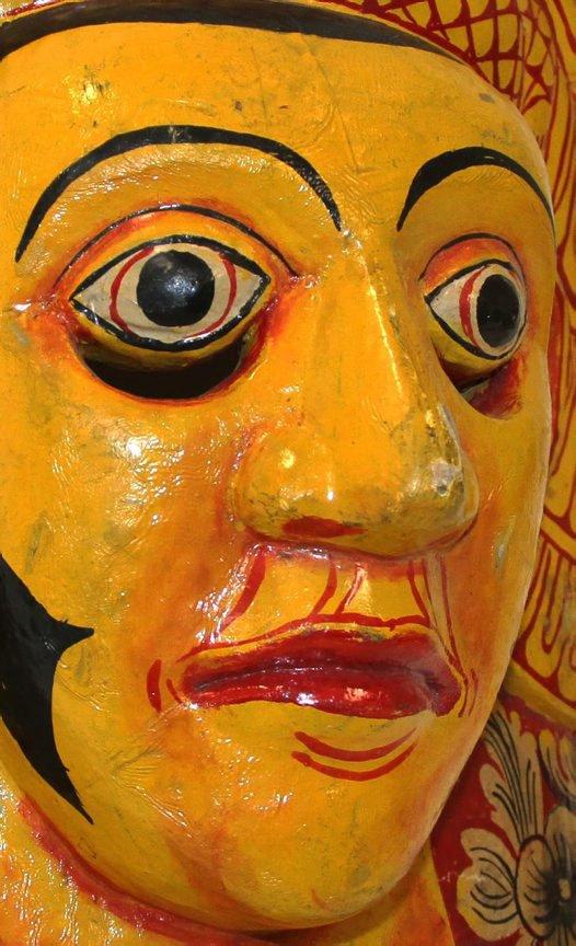 Mask of Deva-Sanniya, Sri Lanka.