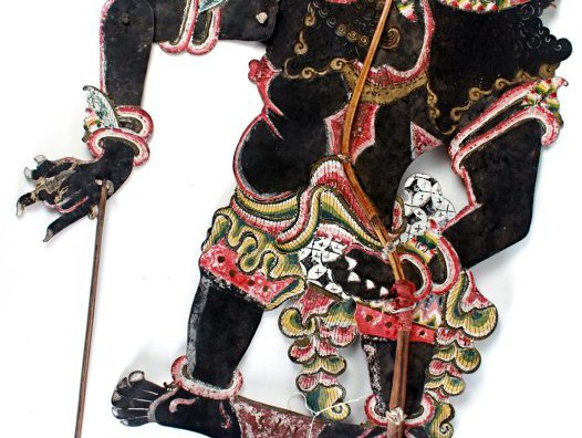 Raksasa - a demonic character from Javanese shadow theatre.