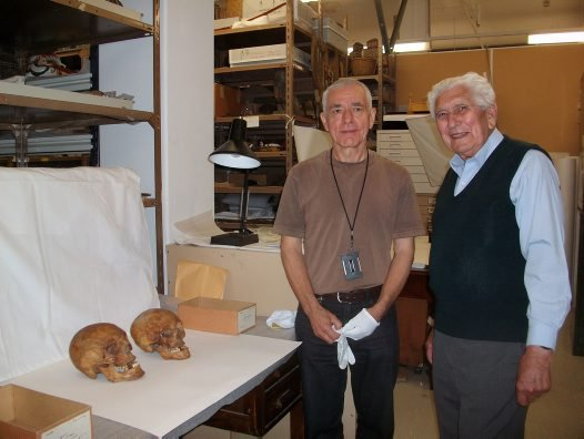 December 2013 B Keith Brown with Stan Florek in the collection