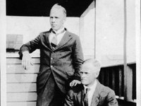 Raymond Arthur Dart (1893–1988) with Joseph Lexden Shellshear (1885-1958).