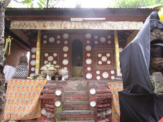 Ider-ider in Pura Bale Batur temple