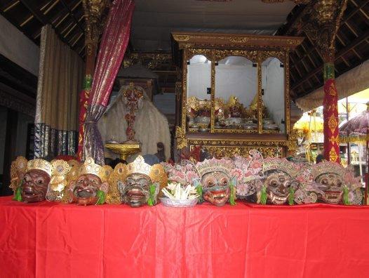 Object in Pura Bale Batur temple