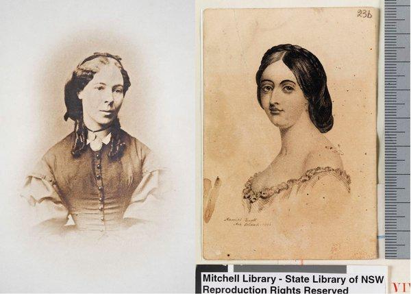 Scott sisters portraits