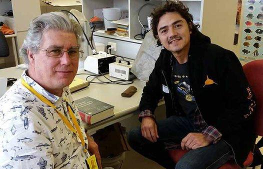 Scott Tuason (right) and Tony Gill