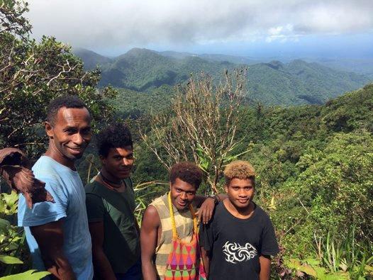 Solomon Islands Expedition members, Malaita